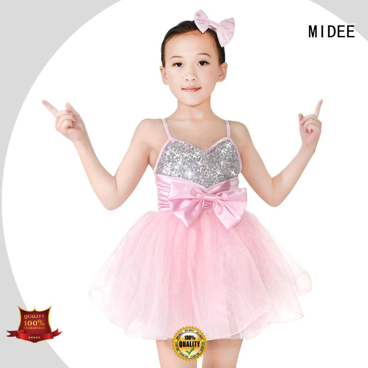 MIDEE stable performance cute dance costumes customization performance