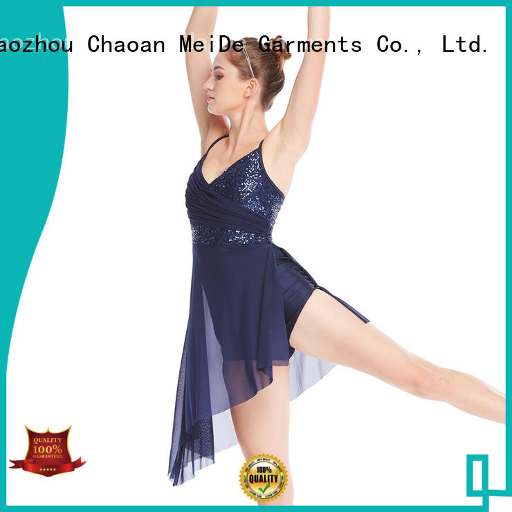 customization girls lyrical dance costumes skirt dance clothes competition