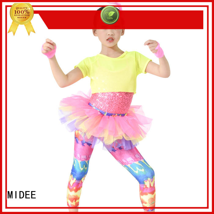 stable performance simple dance costumes dots oem performance