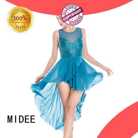 MIDEE OEM lyrical dancewear dance clothes performance