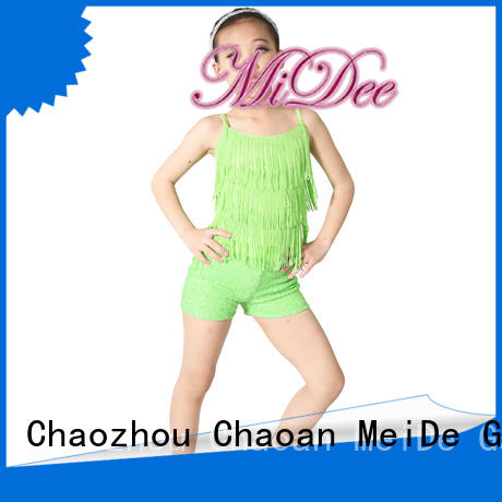 durable dance costumes for girls jazz bulk production competition