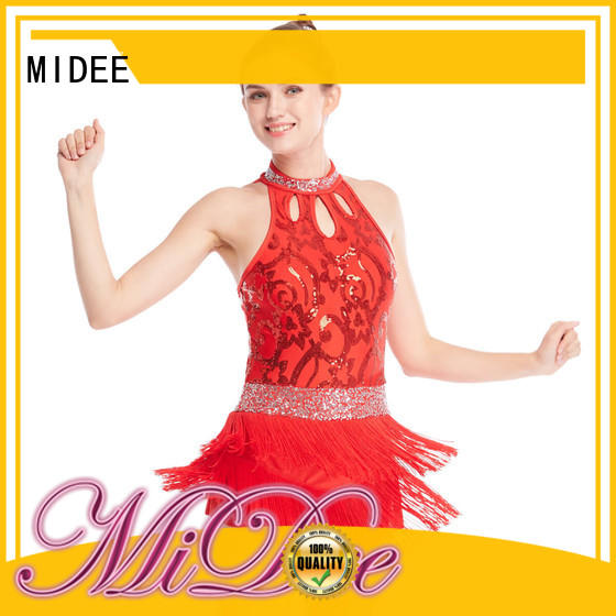 MIDEE professional dress jazz costumes dance solo customization dance school