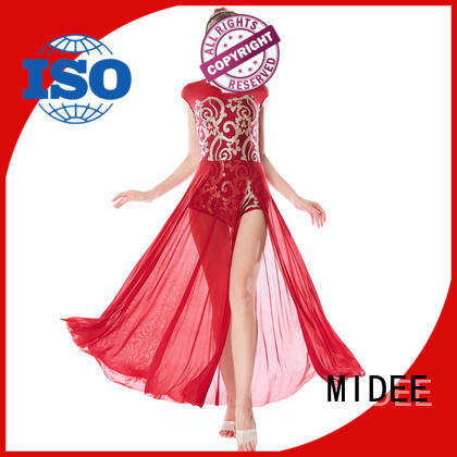 MIDEE customization adult dance clothes custom stage