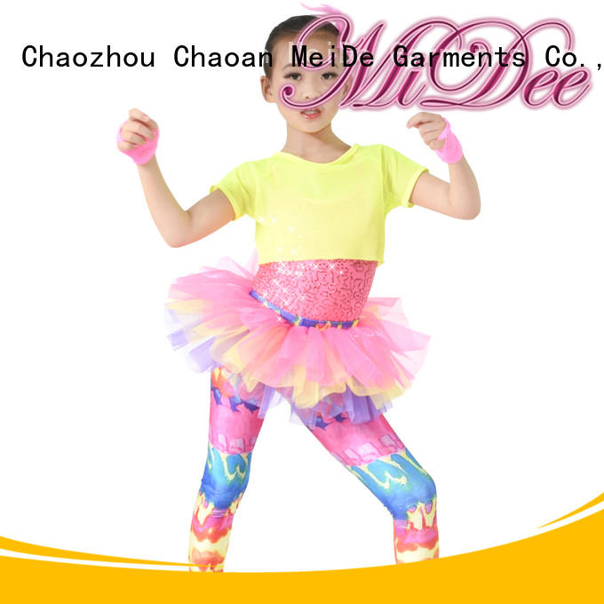 MIDEE good safety pretty dance costumes OEM Stage
