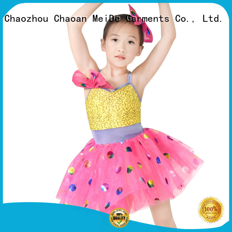 MIDEE animal school girl dance costumes factory price competition