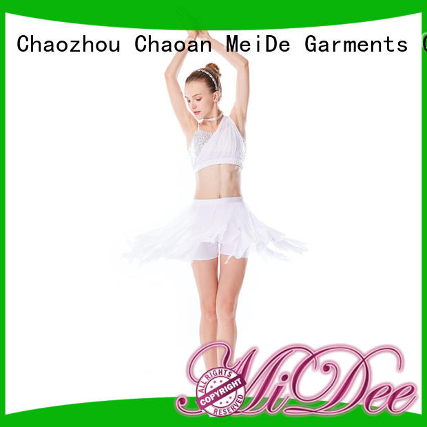 customization girls lyrical dance costumes skirt custom performance