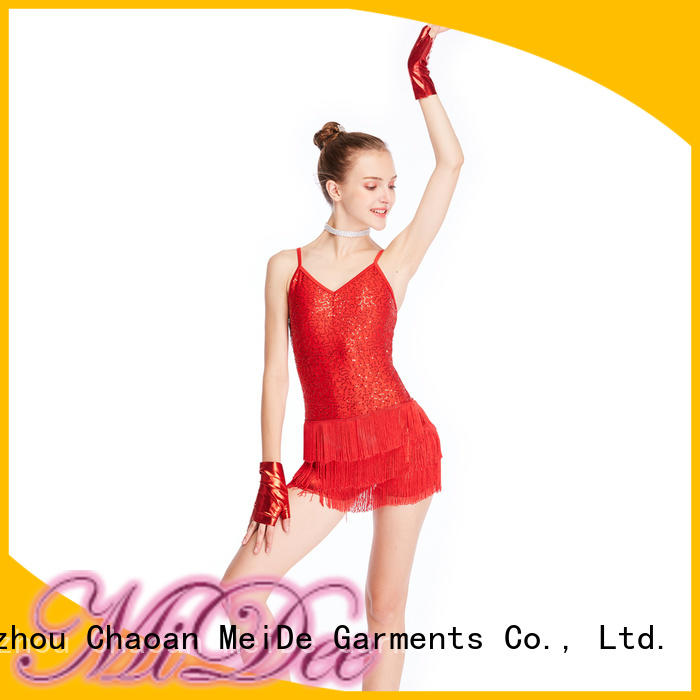 MIDEE on-sale jazz dance clothes top dancer