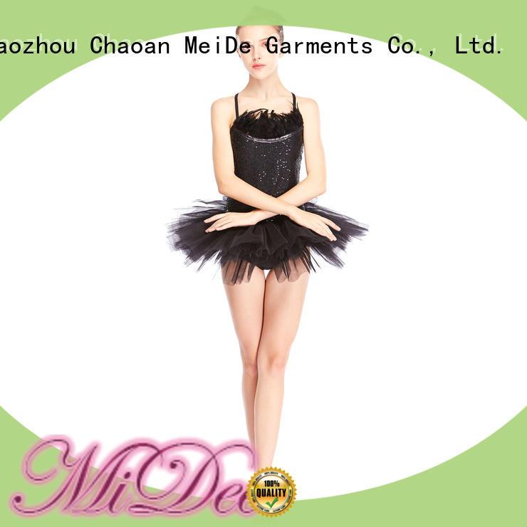 MIDEE adjustable ballet dance costume leotard dancer
