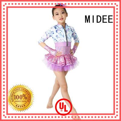 MIDEE polka little girl dance costumes for wholesale dance school