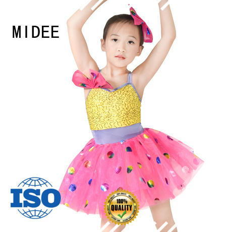 MIDEE reasonable structure contemporary dance costumes oem competition