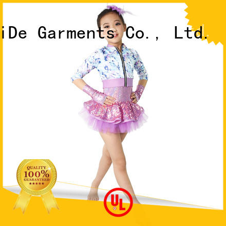 MIDEE good safety dance costumes girls customization dance school