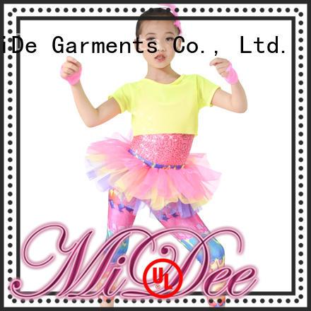 MIDEE jazz dance costumes for kids show