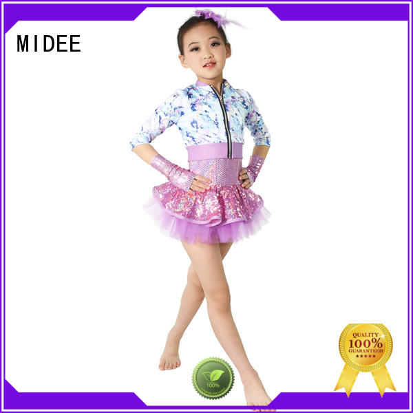 reasonable structure contemporary dance costumes for competition foiled factory price performance