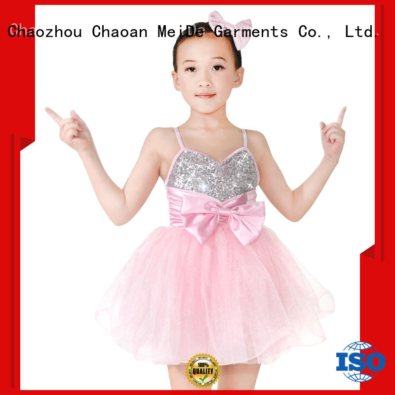 MIDEE stable performance dance costumes kids oem competition