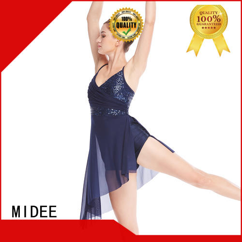 MIDEE sequins adult dance clothes dance clothes competition