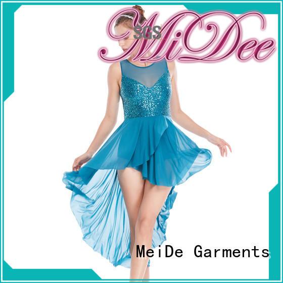 MIDEE OEM girls lyrical costume modern competition