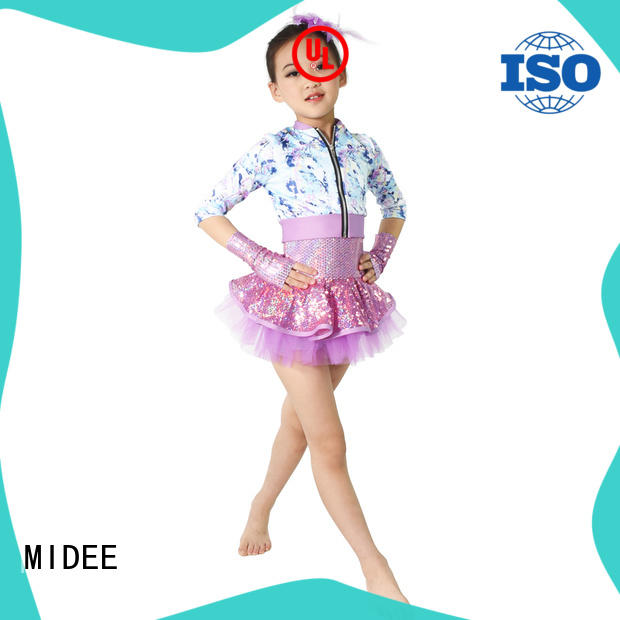 simple dance costumes fishnet performance MIDEE