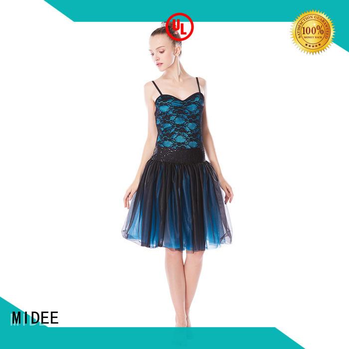 MIDEE comfortable womens ballet costumes highlow dance school