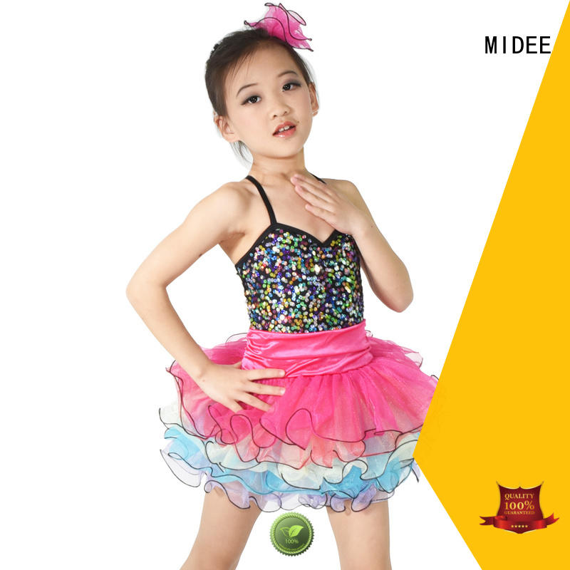 MIDEE reasonable structure dance costumes kids oem performance