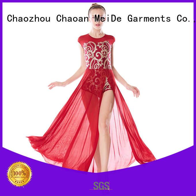 MIDEE costume adult dance clothes custom performance