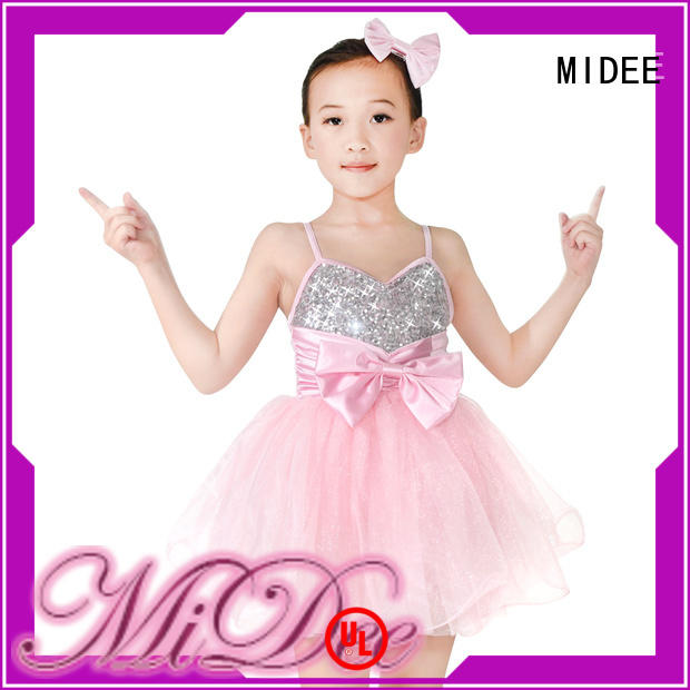 MIDEE cheerful contemporary dance costumes factory price competition