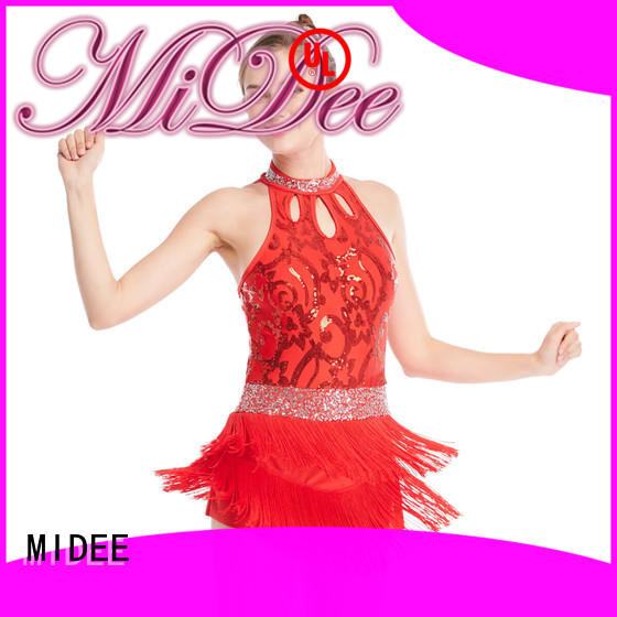 MIDEE floral jazz dance costumes for wholesale competition
