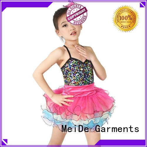 MIDEE good safety solo dance costumes oem dance school