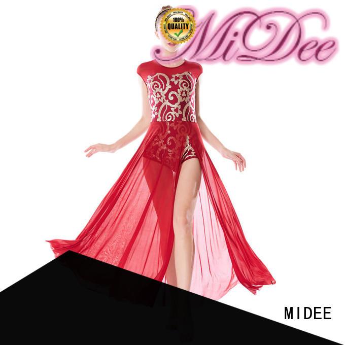 MIDEE sequined lyrical solo costumes custom performance