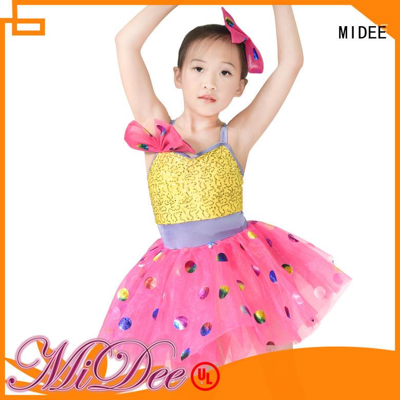 MIDEE leotard school girl dance costumes factory price dance school