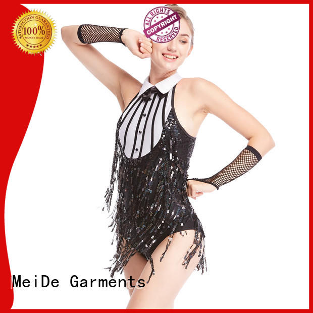 MIDEE jazz dance costumes for teens cheerful competition