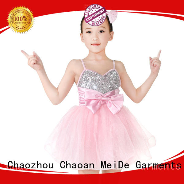 MIDEE dance dance costumes for kids competition OEM dance school