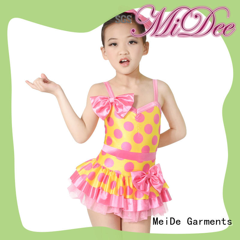 MIDEE stable performance contemporary dance costumes for competition customization show