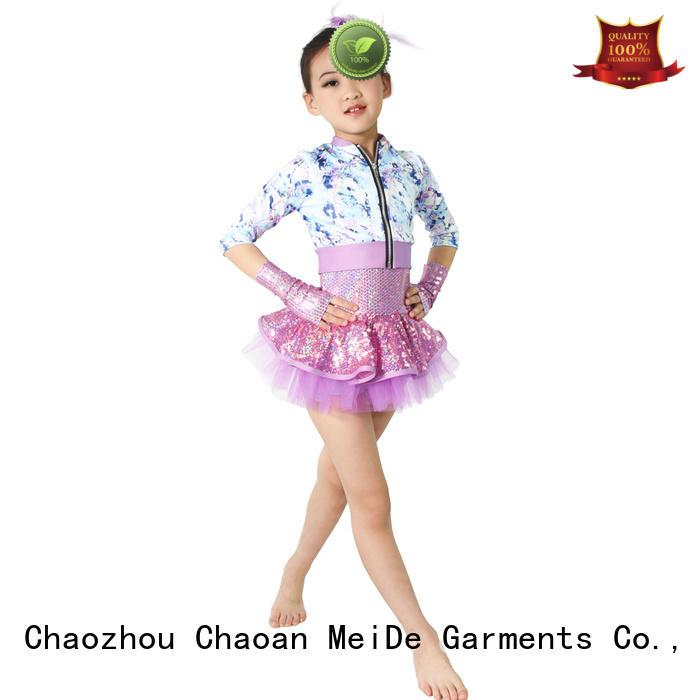 good safety rainbow dance costumes skirt performance