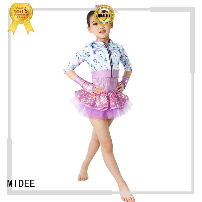 MIDEE reasonable structure simple dance costumes factory price competition