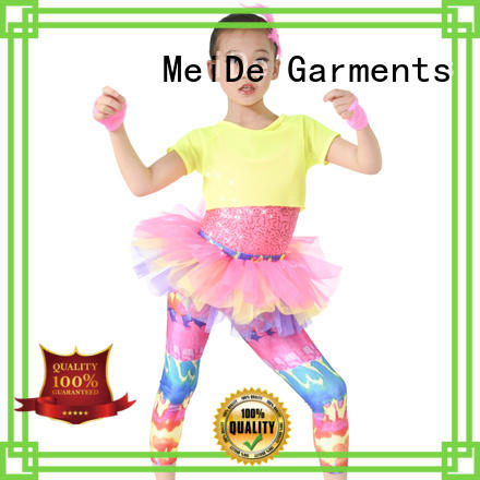sequins pretty dance costumes customization Stage MIDEE