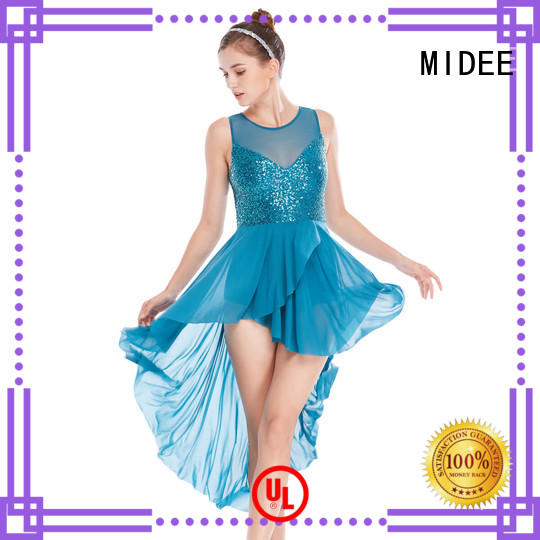 MIDEE floral 2 piece lyrical dance costumes custom competition