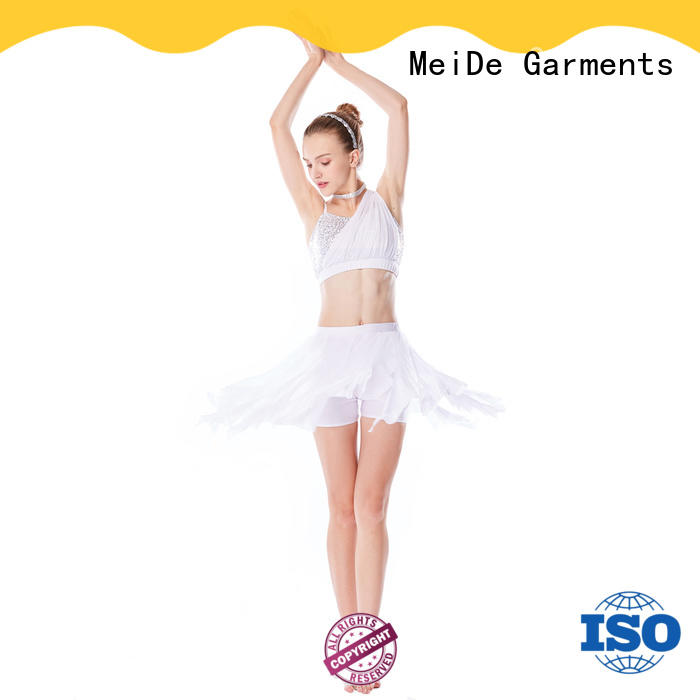 MIDEE OEM lyrical costumes dance clothes performance
