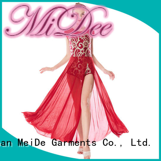 MIDEE customization lyrical solo costumes dance clothes performance