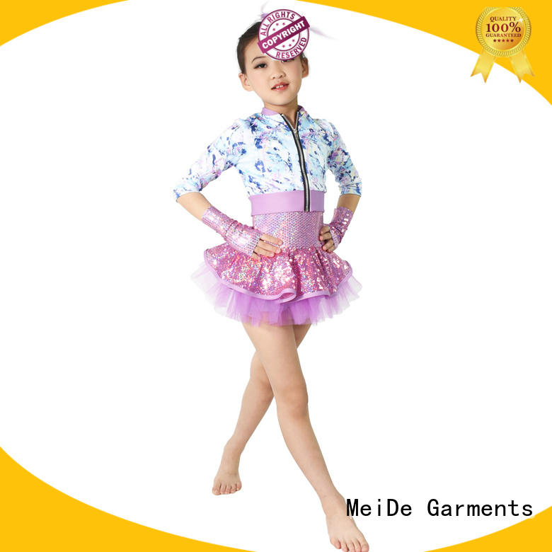 MIDEE color dance costume leotard oem show