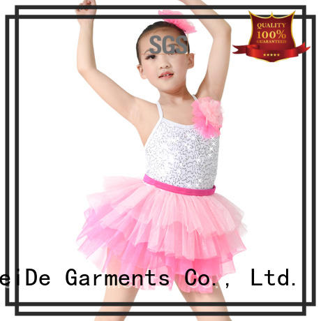MIDEE comfortable kids ballet outfit odm show