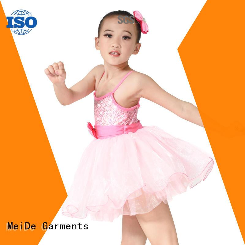 MIDEE comfortable kids ballet outfit odm dance school