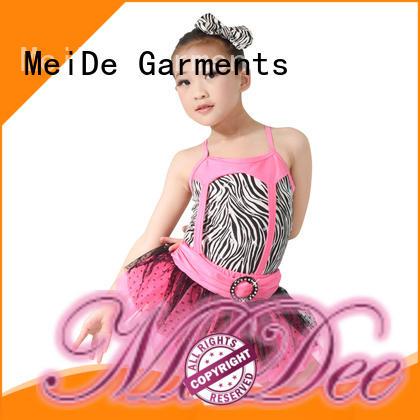 MIDEE comfortable girls ballet clothes factory price dance school