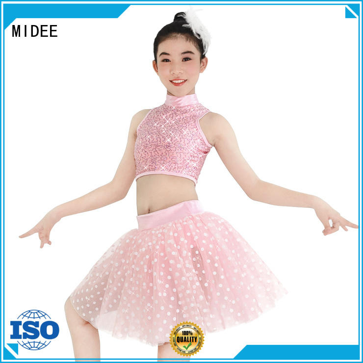 MIDEE tutu girls ballet outfit factory price show