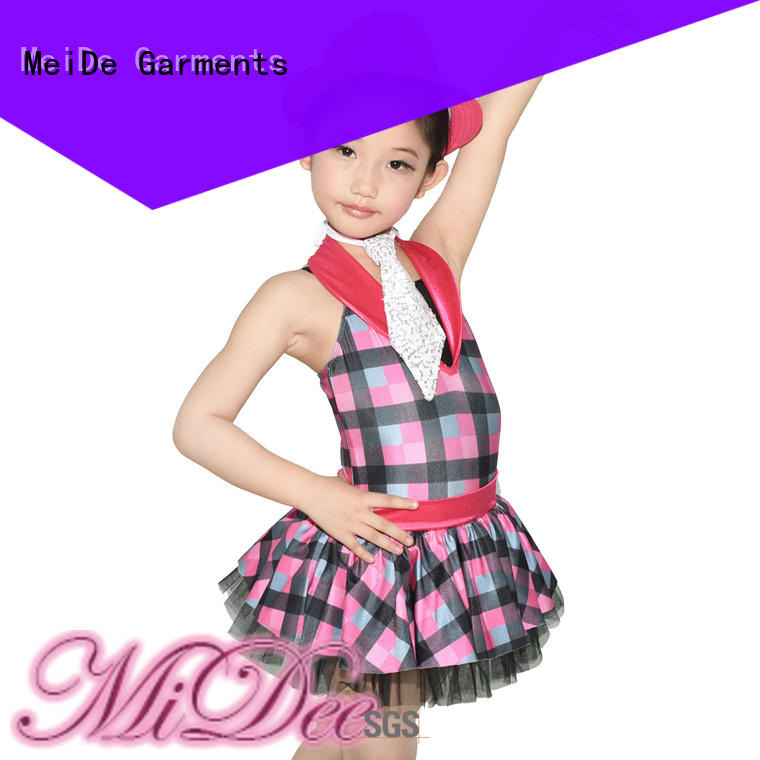 MIDEE professional dress jazz costumes for wholesale show