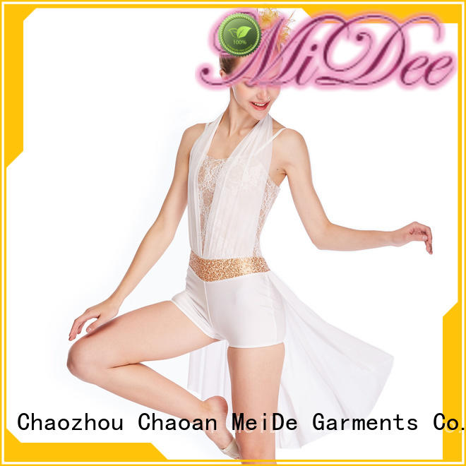 MIDEE OEM lyrical dancewear dance clothes performance