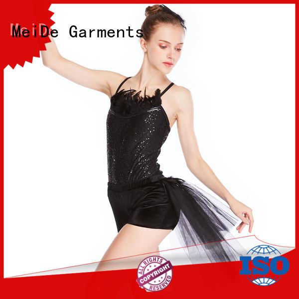 MIDEE comfortable ballet leotards for girls odm performance