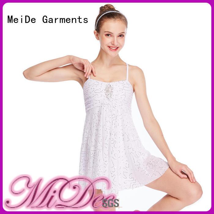 OEM dance costumes lyrical tassel dance clothes show