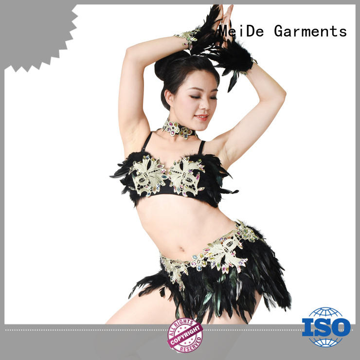 MIDEE professional dress girls jazz costumes customization dance school