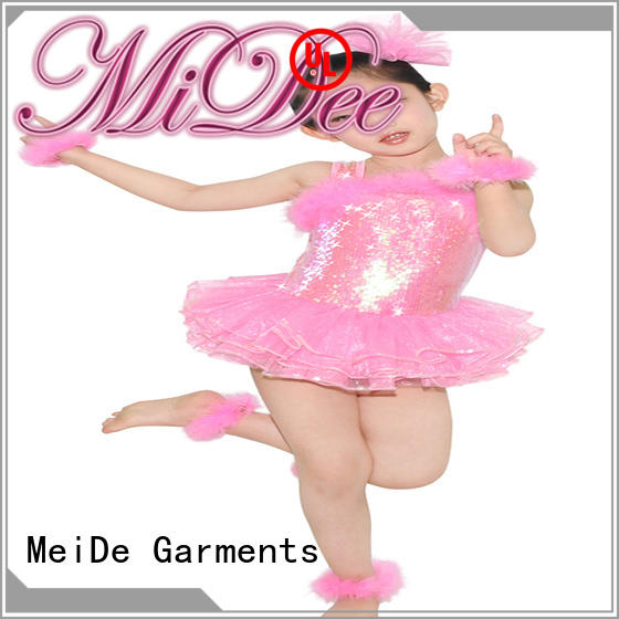 MIDEE sequins lyrical costumes for dance solo custom competition