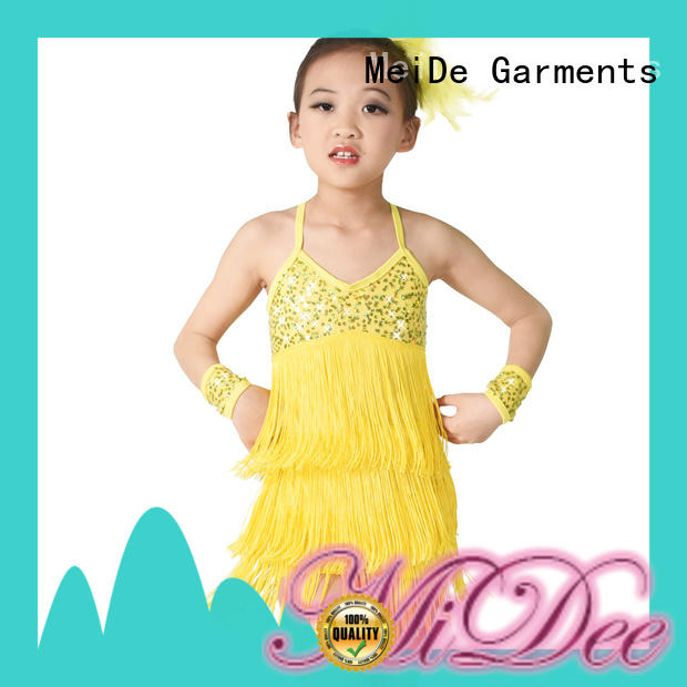 MIDEE comfortable ballet leotard with skirt factory price show